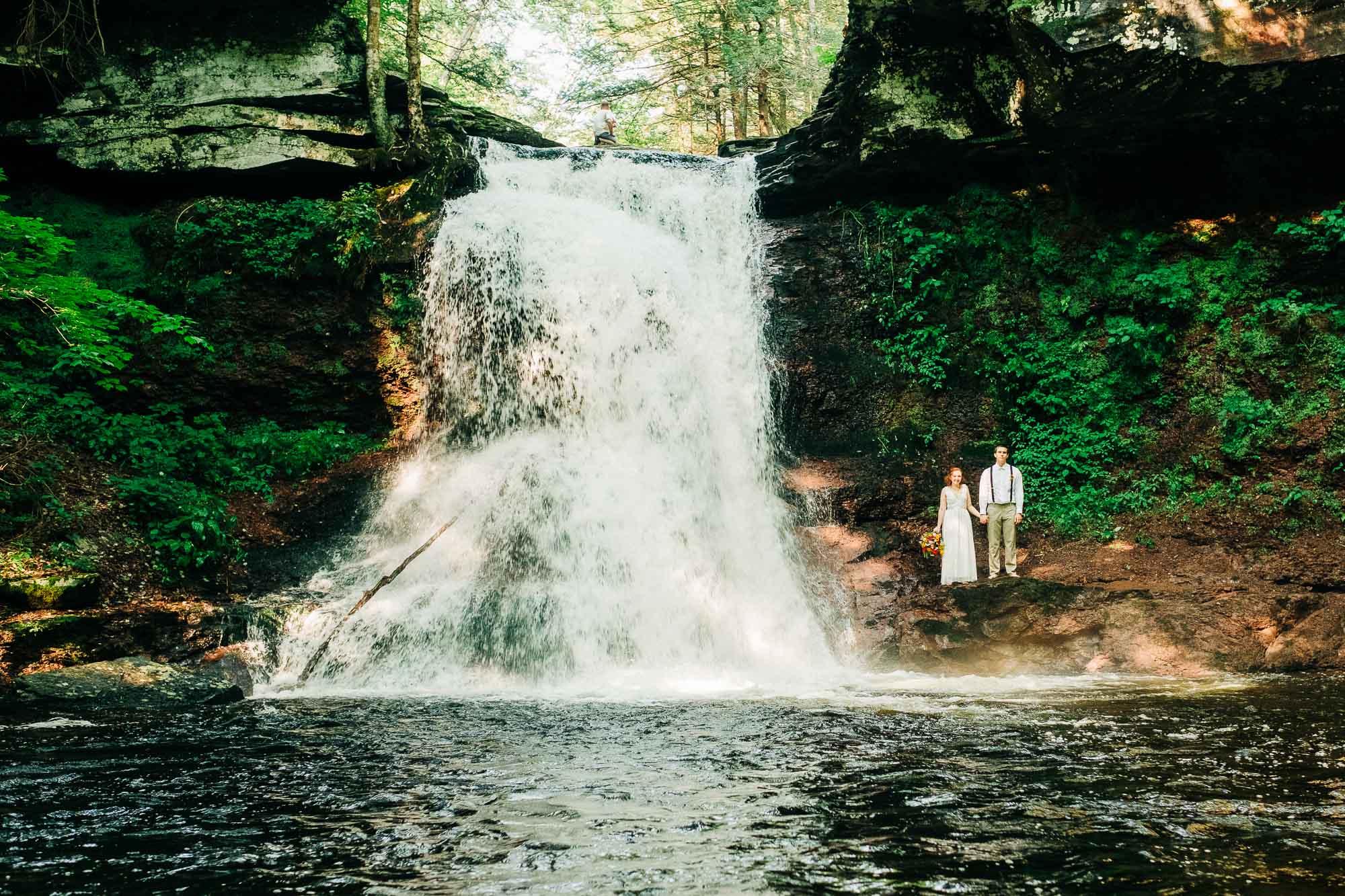 Bridalvail Falls Pocono Mountains PA Travel of a dream Pocono