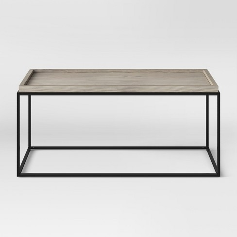 Wooden top with Metal Legs, from dwell.com
