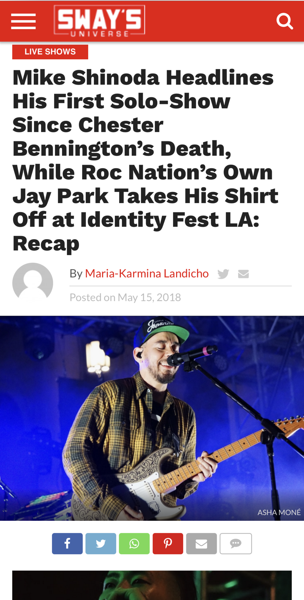 Identity LA 2018 Photo Placement for Sway Universe