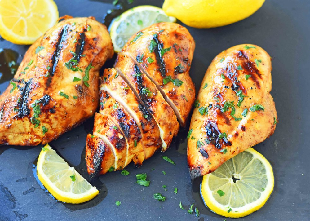 Honey Lemon Grilled Chicken Recipe -