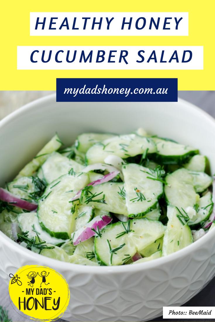 Healthy Honey Cucumber Salad