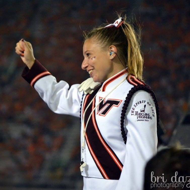 Drum Major Jenna Sharer; Source: Bri Dazio Photography