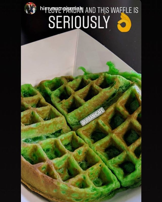 If you know, you know.  You didn't hear it from us! . . . . . . #pandanwaffle #banhmi #che #dessert #fresh #urbanhcafe #bomb #foodie #arizona #scottsdale #phoenix #chandler #tempe #delicious