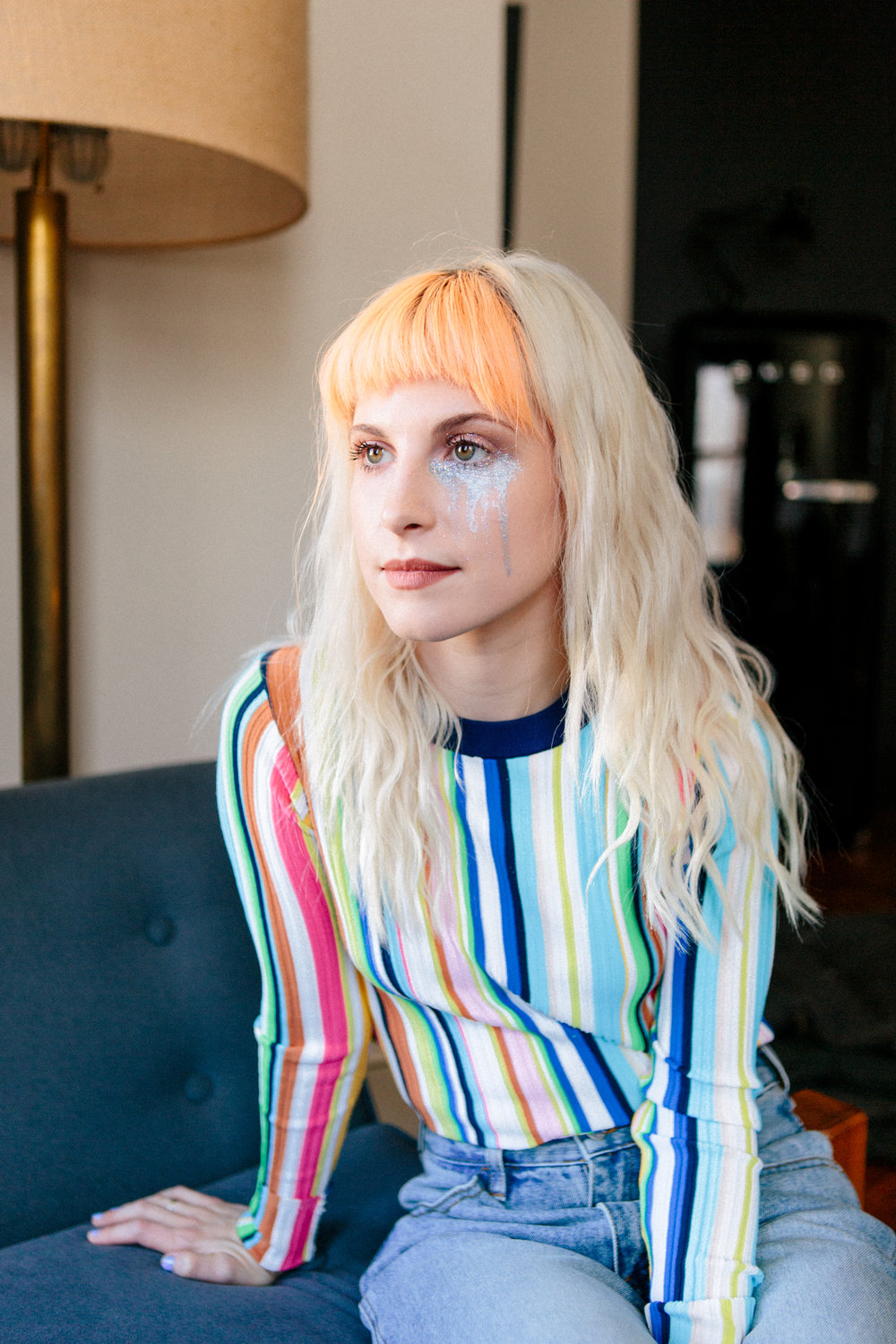 - Hayley Williams for Good Dye Young on Allure.com