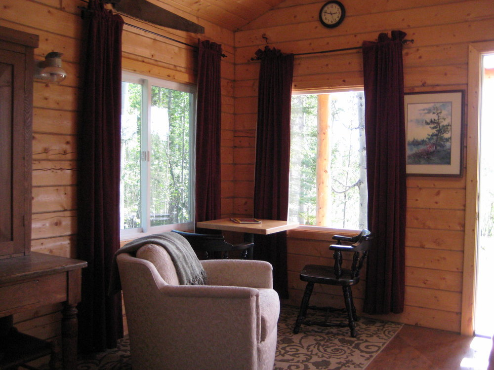 Swift Creek Cabin interior