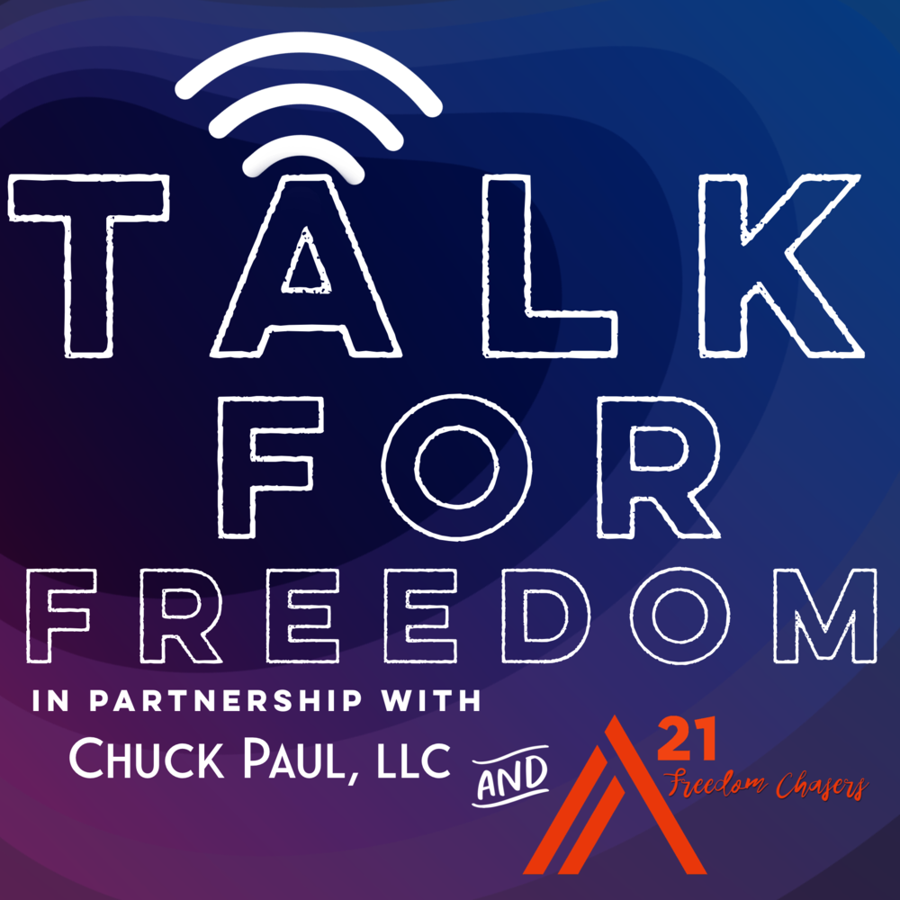 Talk for Freedom is available on Apple iTunes and Google Play -