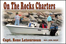 Capt. Rene Letourneau - On the Rocks Charters