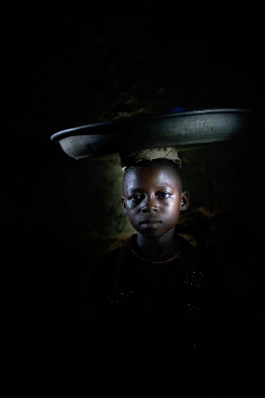 Arishe Abukari in Voggu, Northern Region, Ghana on Feb. 19, 2010.