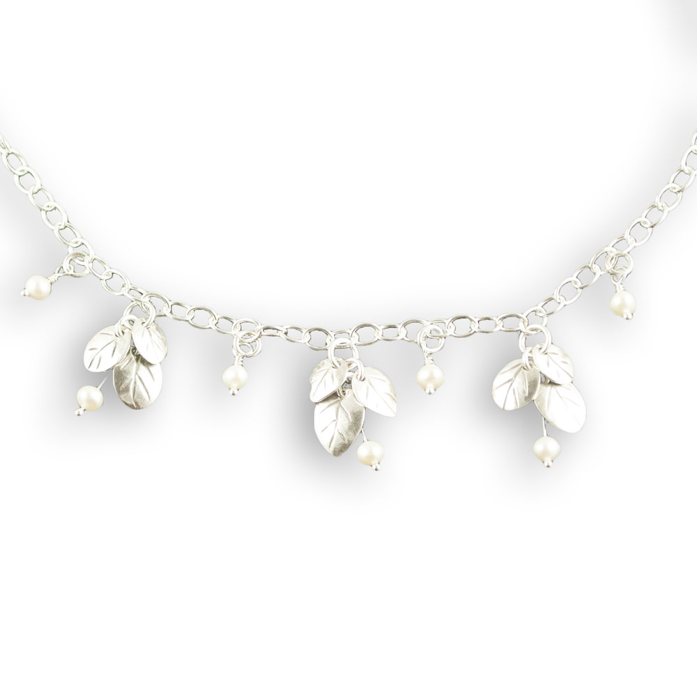 foglia bridal triple cluster necklace.jpg