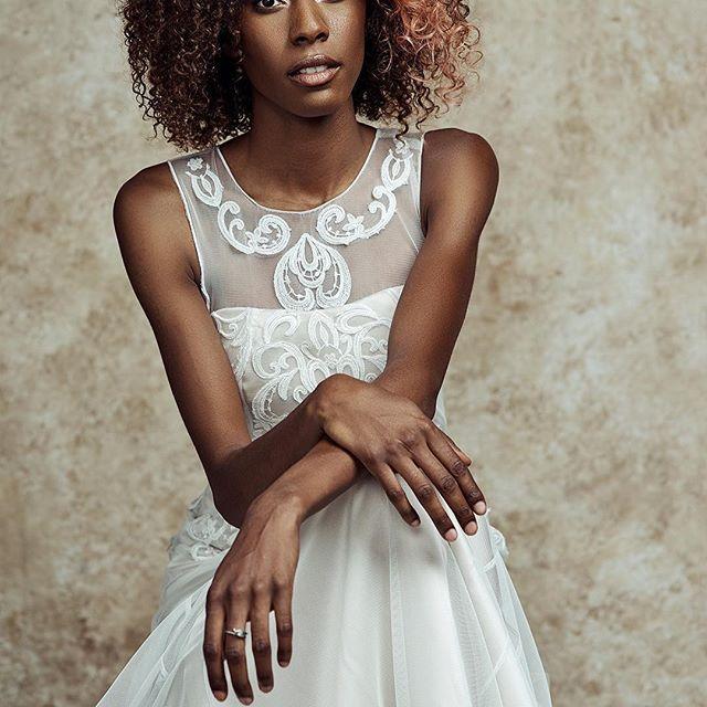 Angelic indeed, wow! 😲  From @mariemargotcouture: An angel among us...@germanygabrielle beautiful shoot by Jonny Edward @jonnycreative with an amazing team: @designsbysarahmeyer@beauty.by.sylvie.kates @radekphotography... gown by @mariemargotcouture  #bridalfashion #businessoffashion #indiebridal #independentdesigner #illusionneckline #bridalcouture #wedaltered #bridalindustry #weddingdesigner #weddinginspo