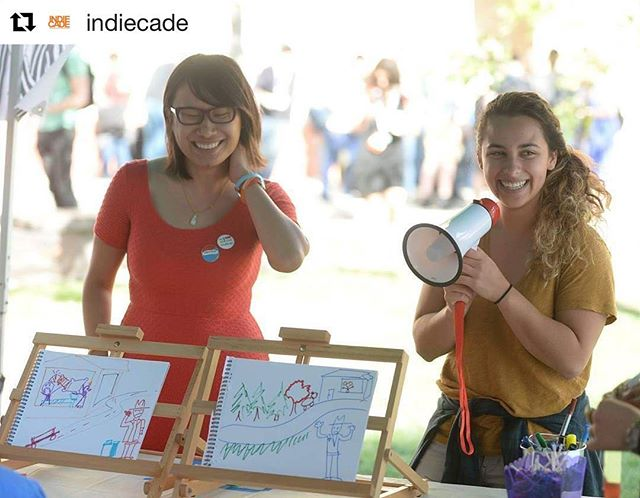 Thanks Indiecade posting our game 🦄🦄🦄 @indiecade #theforger#games#indiegames#creative#fakeart#losangeles#lastyear#amazing#girlgamer#twitch#bluff#indiegames#usc#indiecade