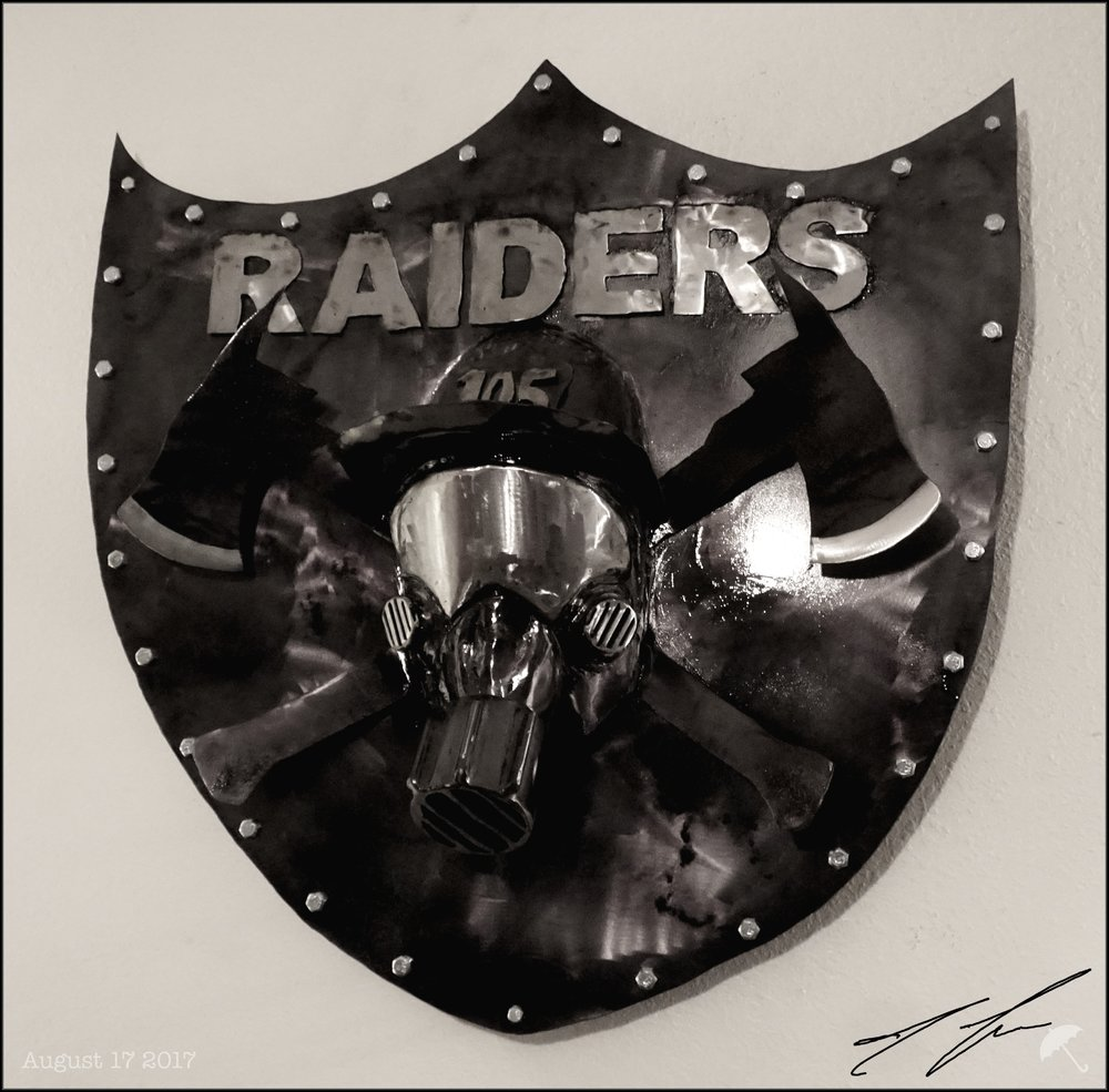 custom raider shield