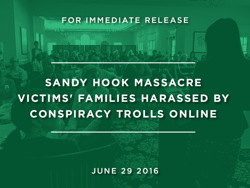 Sandy Hook Massacre Victims Families Harassed By Conspiracy Trolls