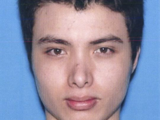 This undated photo from the California Department of Motor Vehicles shows the driver license photo of Elliott Rodger. Rodger, 22, killed six people May 23 before killing himself in the community of Isla Vista near the University of California-Santa Barbara.  (Photo: AP)