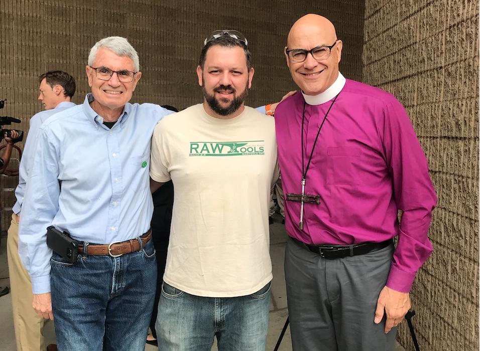 Steve Yanovsky, Mike Martin, & Bishop Jim Curry