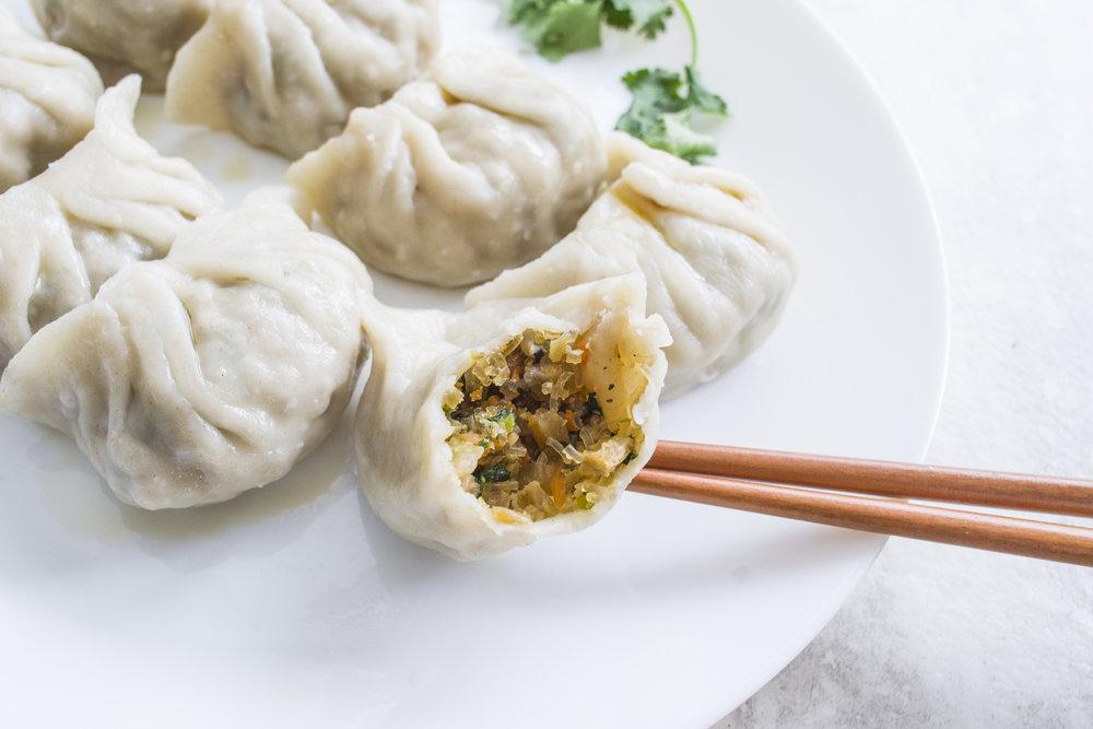 Taiwanese Vegan Dumplings