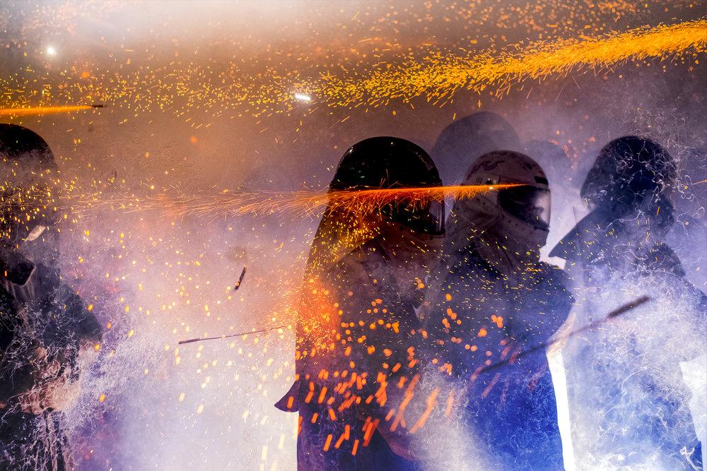 Yanshui Beehive Fireworks Festival (Tainan)