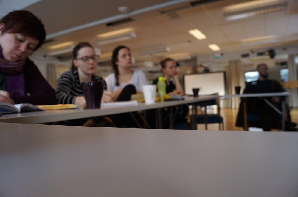 2019-03-19 Fagdager Siri, Torill, Elisabeth, Tuva og Sigurd.JPG