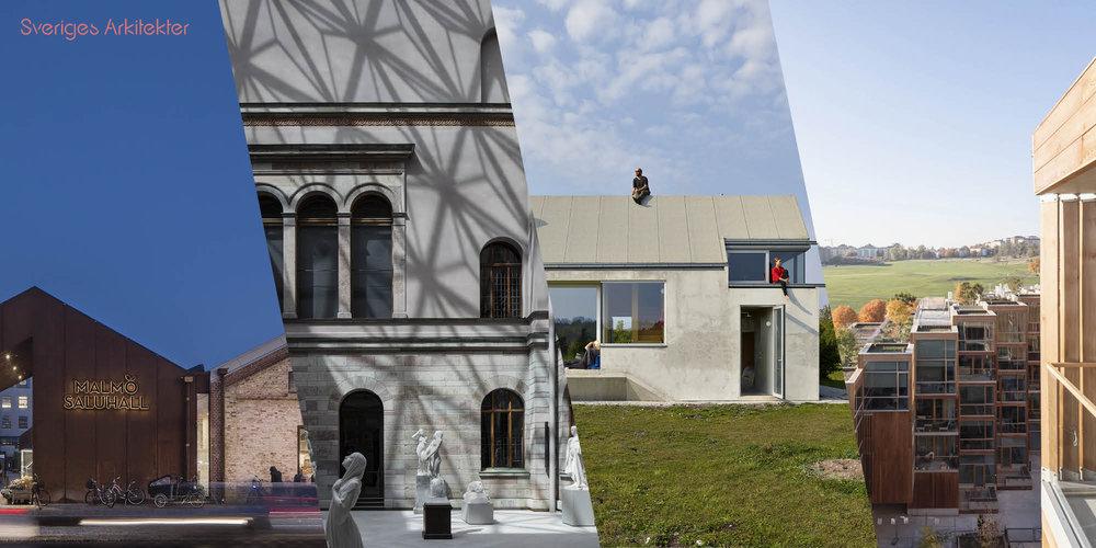 Nous avons l'honneur et la joie de faire partie des 4 projets sélectionnés par l'Ordre des Architectes Suédois, pour ce prix considéré comme la plus prestigieuse distinction architecturale suédoise. Verdict le 19 mars à Stockholm. Vi har äran och glädjen att meddela att Ateljéhuset i Hamra har blivit nominerat till Kasper Salin-priset ! -