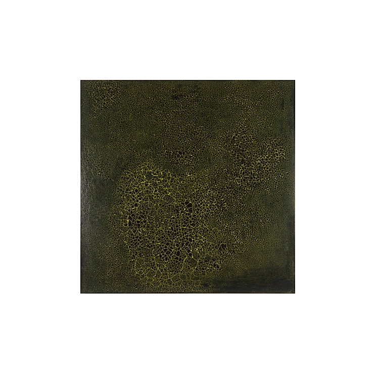 Krakelering # 4 . 1995. Lacquer, oil and pigment on birch plywood. 140 x 140 cm.