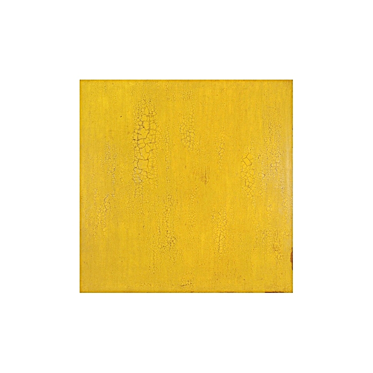 Krakelering # 3 . 1995. Lacquer, oil and pigment on birch plywood. 140 x 140 cm.
