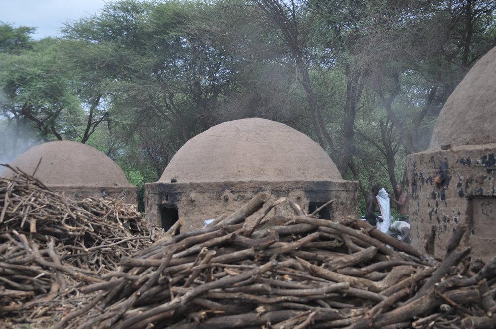 Beehive kilns