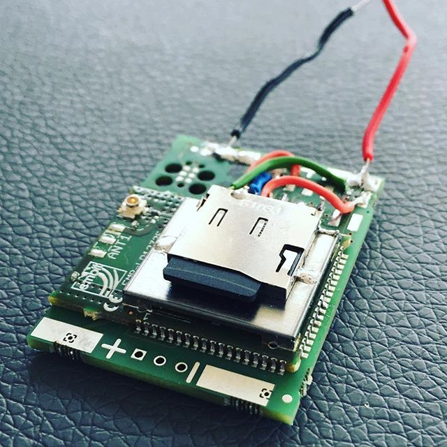 LoRa gebaseerde datalogger. 4GB capaciteit, dat zijn een hoop berichten... 😳