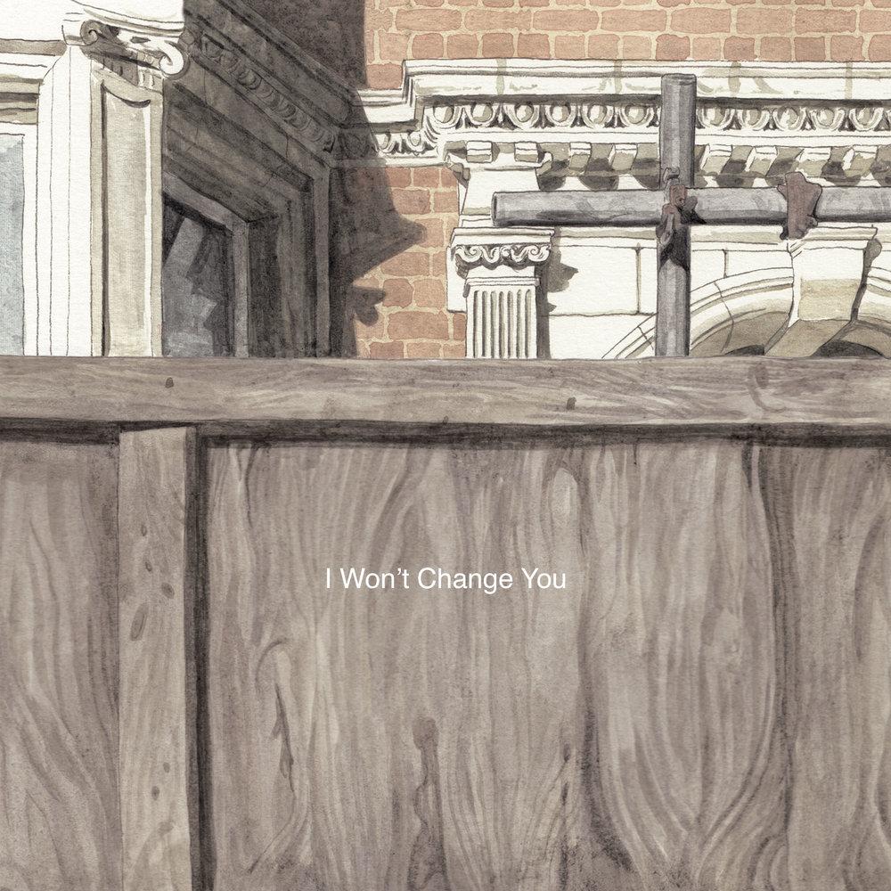I Won't Change You EP - Artwork
