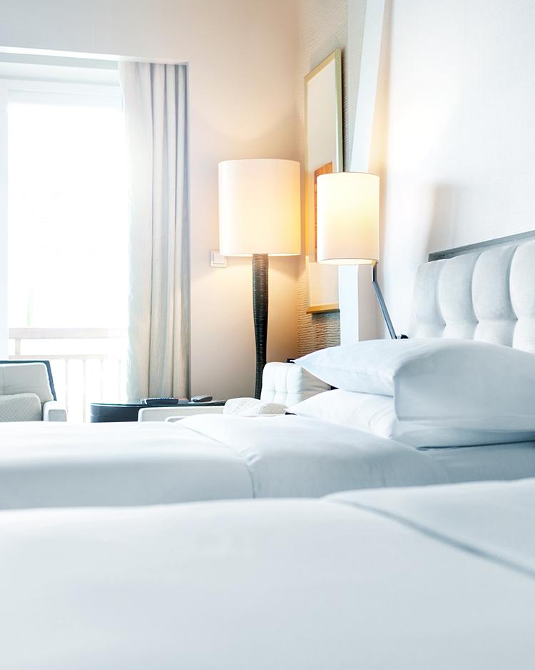 Foto eines Hotelzimmers