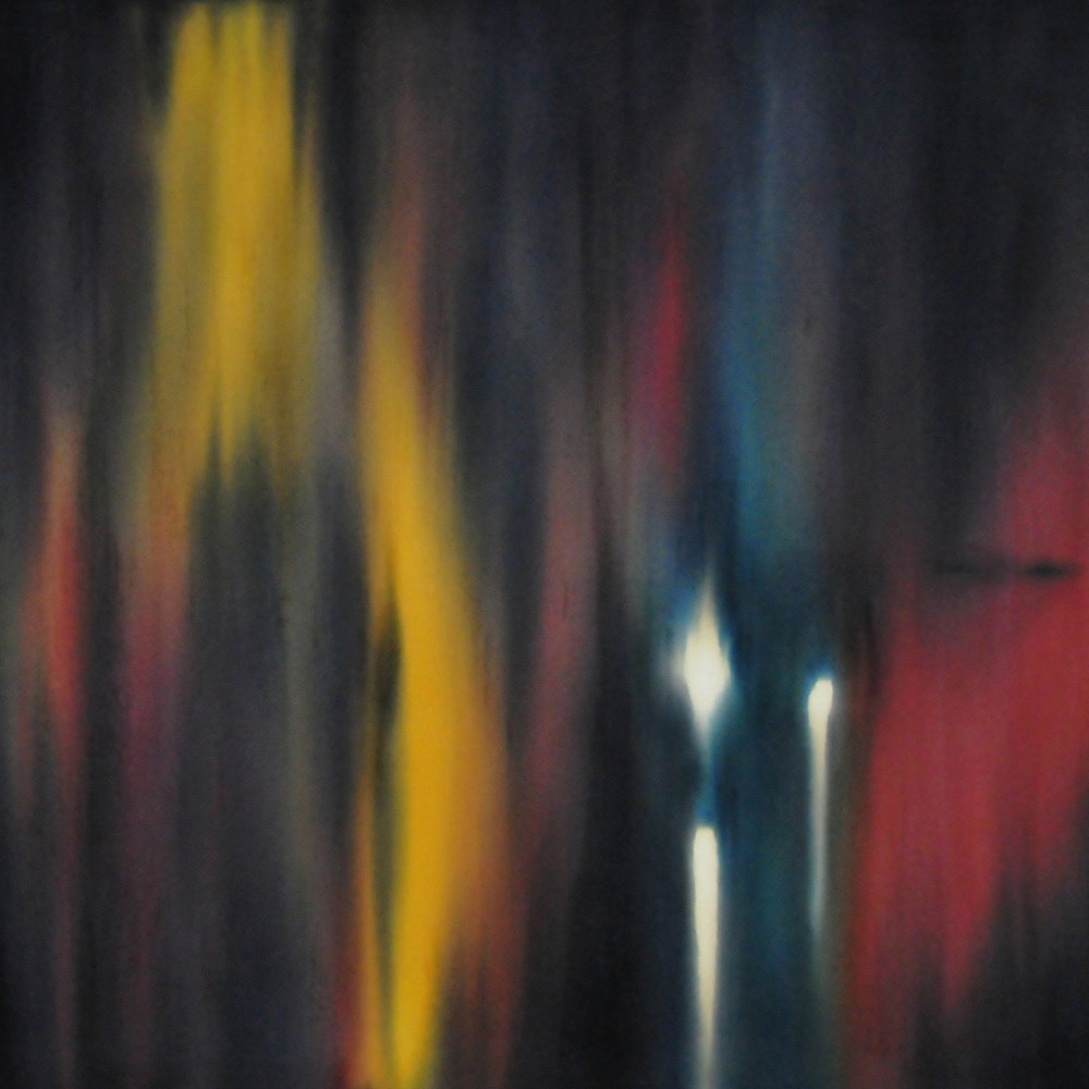 TRANSITION (LIGHTS ON BLUE), 2009  The