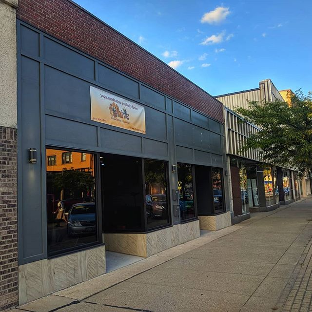 A few months ago we posted about two recently remodeled storefronts available on Broad Street in downtown. With The Hive moving in last week, both units are now occupied! What do we need next in downtown? . . . . . . . . . . #awesomeelyria #downtown #downtownelyria #smallbusiness #smalltownusa #revival #supportlocal #vegetarianrestaurantanyone? @elyriahive