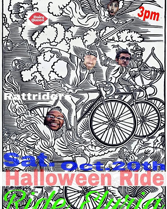 Join the Ride Elyria Halloween ride on 10/20 @ 3pm. Costumes encouraged! All ages welcome. Meet at DQ on Abbe and Hilliard. . . . . #awesomeelyria #cityofelyria #rideelyria #ridesomething #halloween #dressup #bikinginohio #smalltownusa #elyria