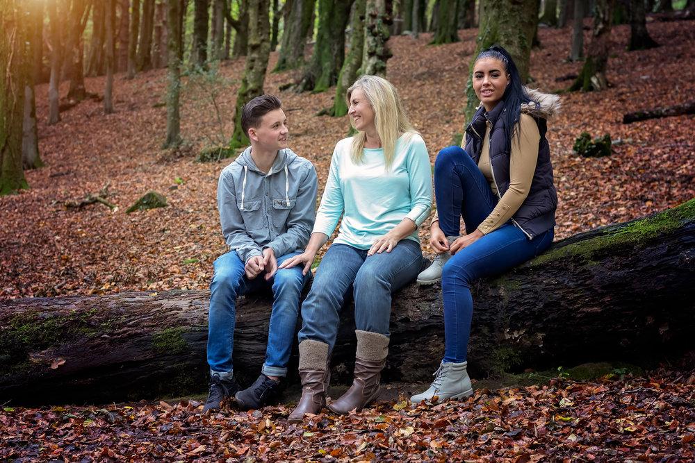 Family Woodland Photshoot Cardiff
