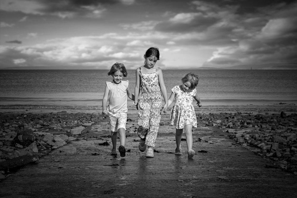 Family Photoshoot Penarth Beach