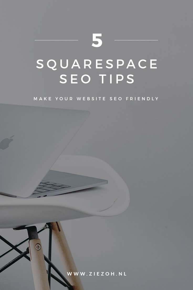 5 SQUARESPACE SEO TIPS DOOR  ZIEZOH DESIGN STUDIO