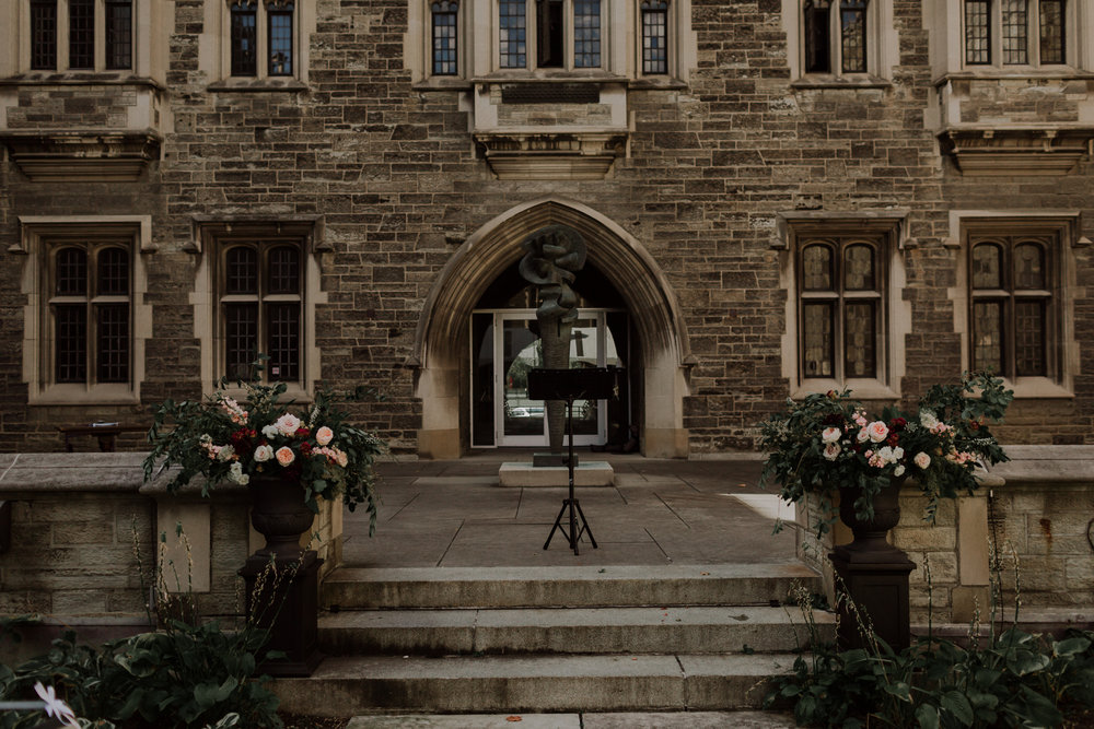 alex dylan wedding toronto hart house distillery district fall autumn outdoor best top flowers rikki marcone events