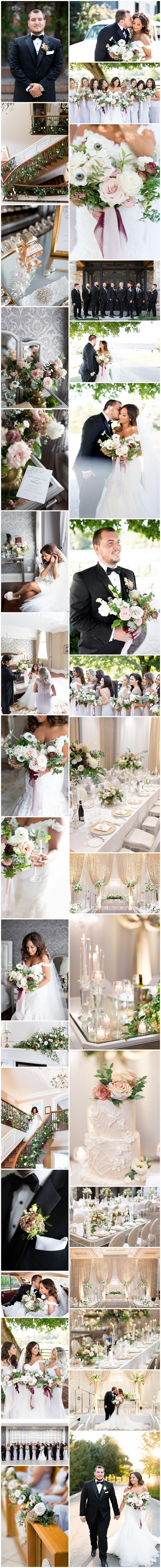 rikki marcone events flowers florist weddings toronto best bouquet fall wedding chateau le parc autumn