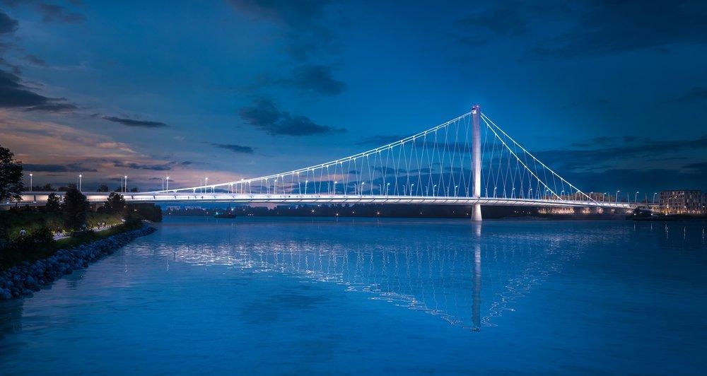 New Danube Bridge - International Competition, BudapestPURCHASE PRIZE