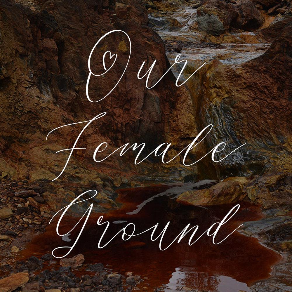 Our female ground script font.jpg