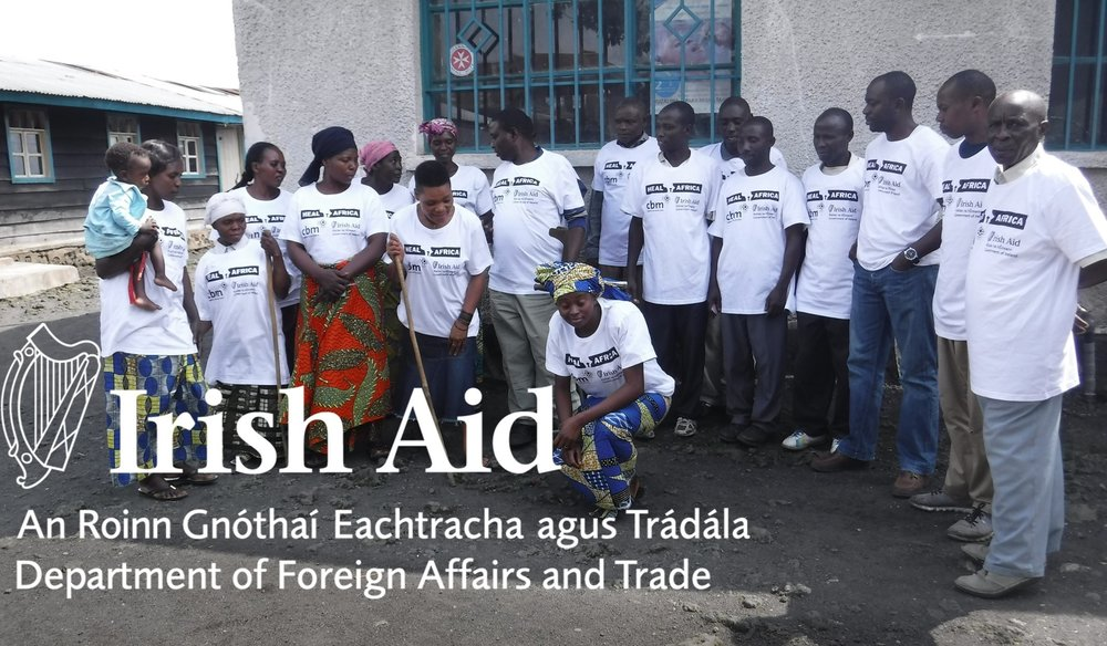 Picture of a project financially supported by Irish Aid in Africa.