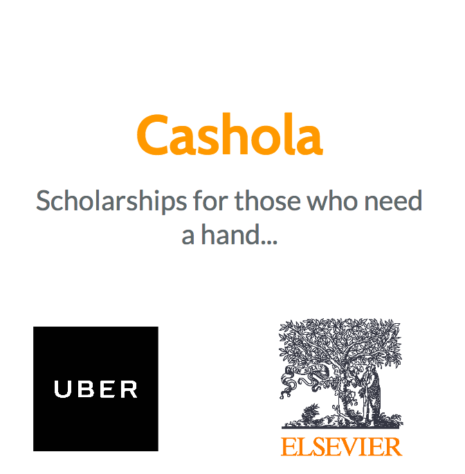 Uber, Elsevier, thank you for supporting our mission!
