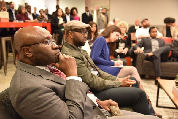 Engagement           - Monthly networking and learning events, Designed to facilitate networking, to showcase members and their organizations and to provide information in the technology sector from industry experts.Join us every 3rd Tuesday @MakeOffices, 1635 Market Street, Philadelphia, PA.