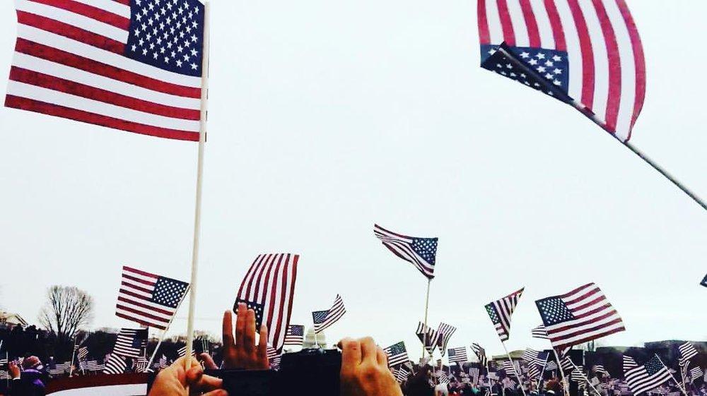 Flags Inauguration 2012.jpg
