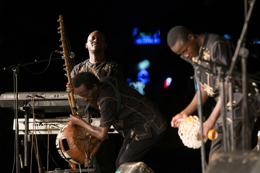 Ahmed Fofana and new project P-Pentatonique, a fusion of modern and traditional Malian sounds.