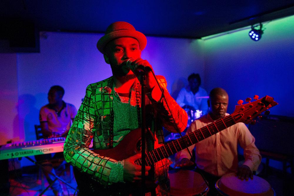 Nkumu Katalay and the Life Long Project at Harlem's Yeresso Lounge