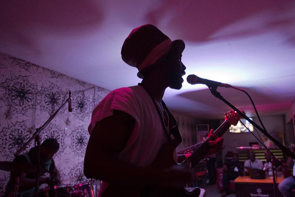 British Dependency performing in Cocody, Abidjan, Cote d'Ivoire