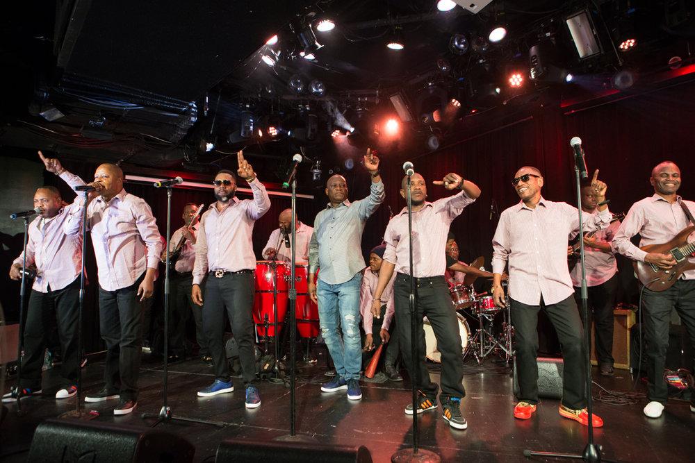 Legendary Congolese vocal group Zaiko Langa Langa at Le Poisson Rouge November 27th.