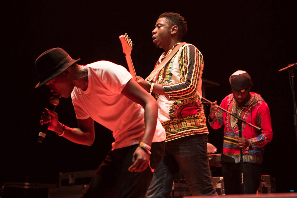 Mokoomba Performing at the 2017 Visa For Music conference and showcase in Rabat, Morocco.