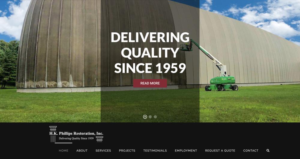 H.K. Phillips Restoration Website