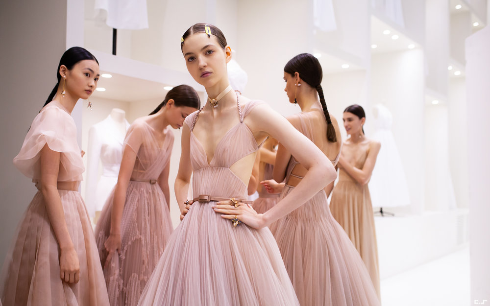 Dior - Haute Couture AW18 - Backstage - July 2018